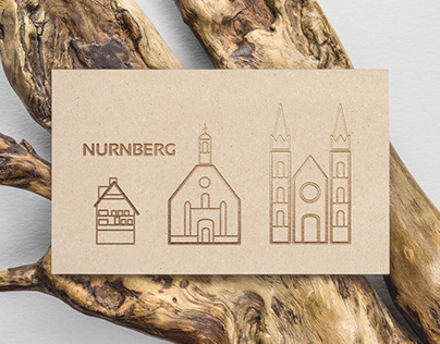 Guide business card