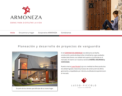 Armoneza - Website