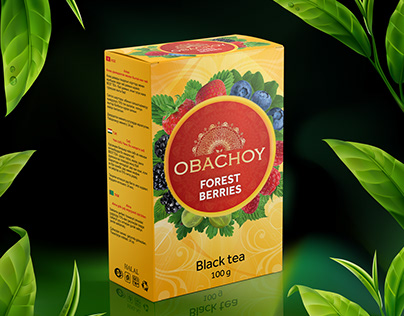 Packaging Obochoy Tea