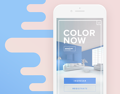 Color Now - App Design for American Colors