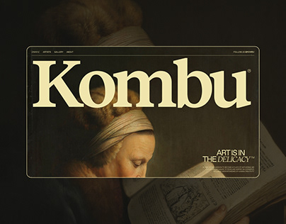 Kombu® — Art, Design & Culture Magazine