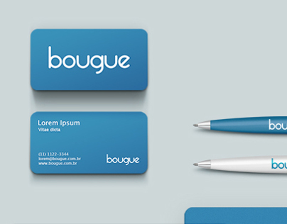 bougue visual identity