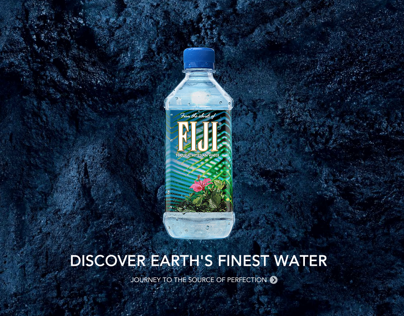 Fiji Water Website