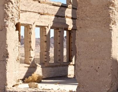 Rhyolite Nevada Ruins