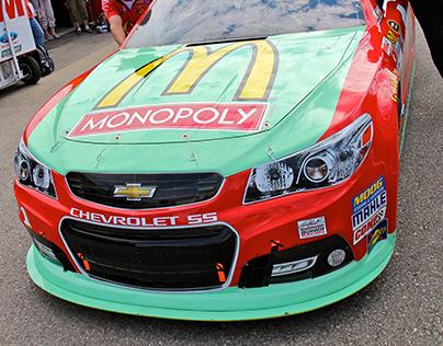Event - 2013 Monopoly at McDonald's - NASCAR No. 1