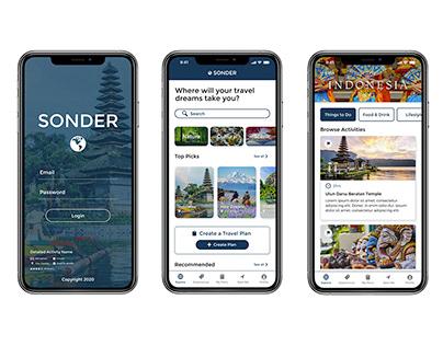 Sonder Cultural Tourism Mobile App Case Study