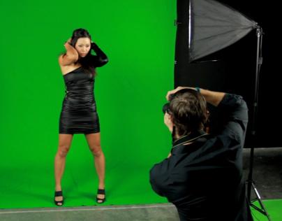 Green Screen Photography Kits Demo