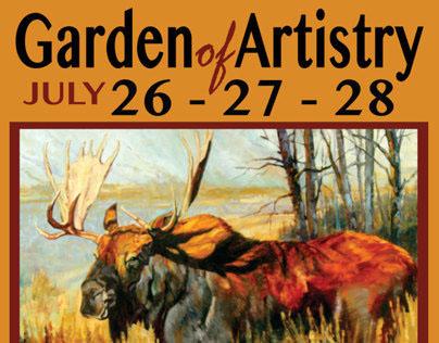 Marketing Garden of Artistry Invitational Fine Art Show