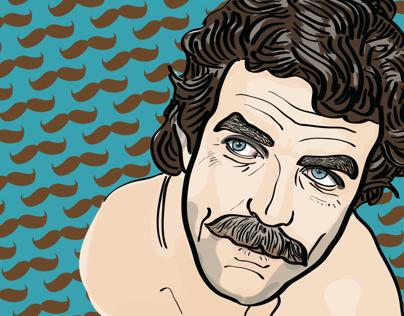 Tom Selleck for Movemeber