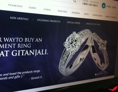 Jewellery Brand Website Redesign