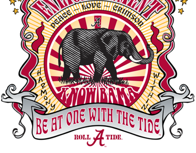 University of Alabama designs