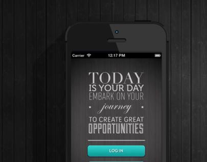 NTU Job Pass Mobile application