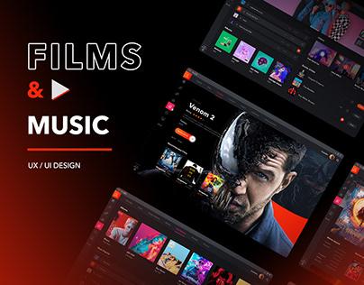 Films & Music platform