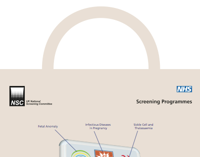 Recycled cloth carrier bag for NHS