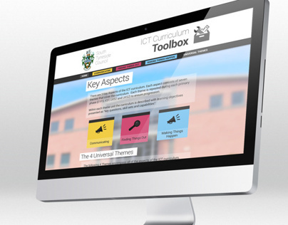 South Tyneside Council - ICT Curriculum Toolbox Website