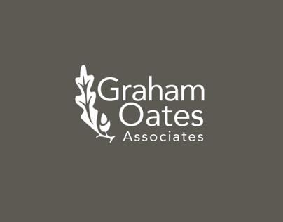 Graham Oates Associates Logo | Re-branding for web