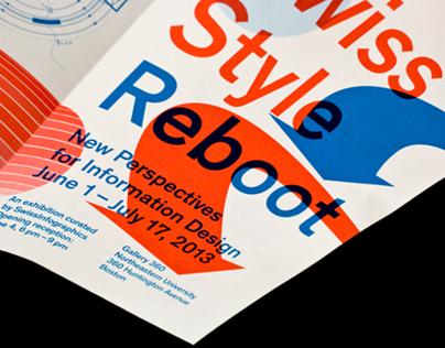 Swiss Style Reboot: Brochure