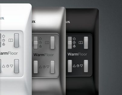 Electrolux thermostats for a floor heating set