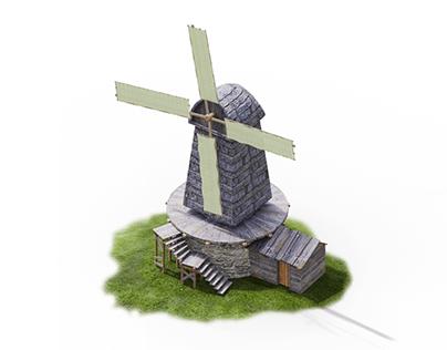 Windmill Animation