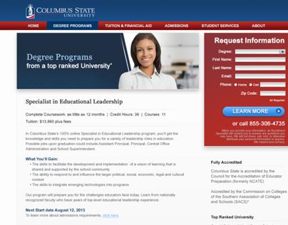Columbus State University Website