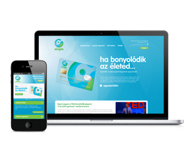 Simple Bank Web & Mobile UI design