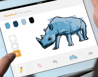 Smartstrand Interactive Coloring Book