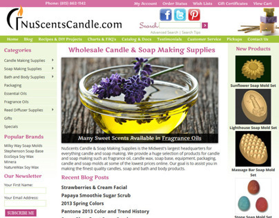 NuScents Candle