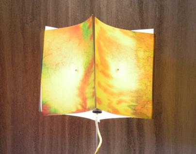 "Light sculpture ""Clipsquare"""