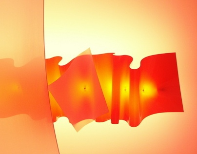 "Light sculpture ""Clipswave"""