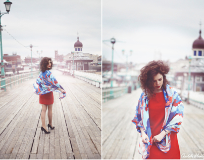 Editorial Shoot for Charlotte Hudders - Designer