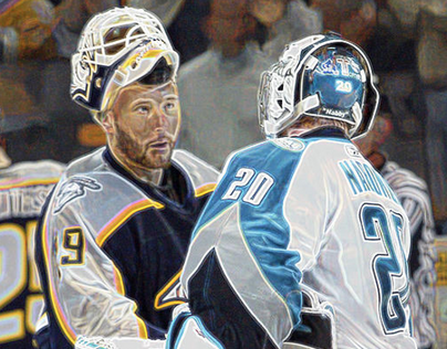 NHL Photo Illustrations