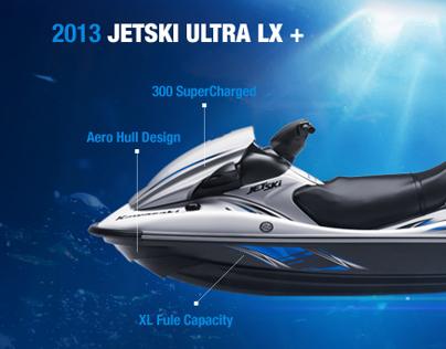 JetSki Micro Site 2013