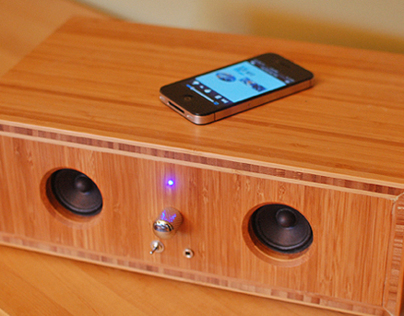 Bluetooth Speaker Upcycle Project 1