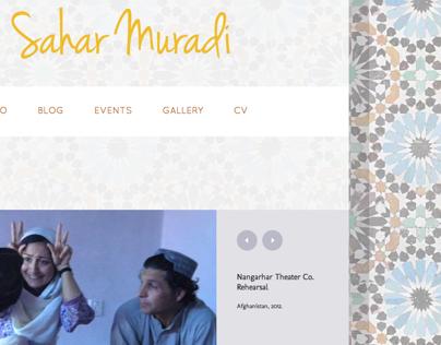 Sahar Muradi Website