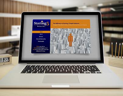 Starting 5 Website Design / Construction