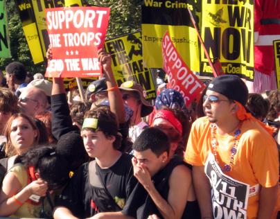 Iraq War Protest (2007) - US Capitol