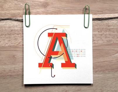 ROBO, An Illustrative Typeface