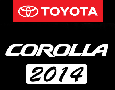 Toyota Corolla 2014 (Unofficial Ad.)