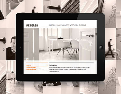 Peterer Lawyer // Responsive Website