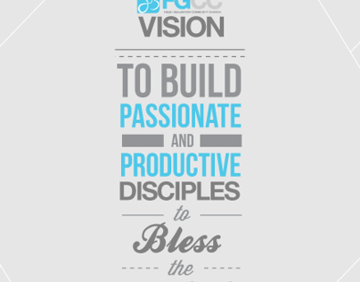 To Build Passionate and Productive Disciples