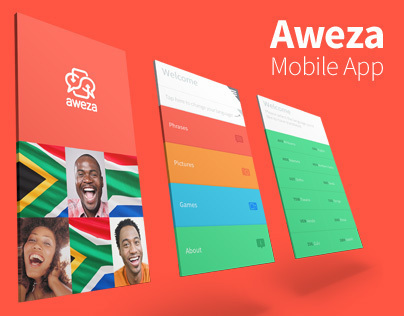 Aweza - a South African phrase translation app
