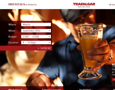 TRAFALGAR - travel like a local