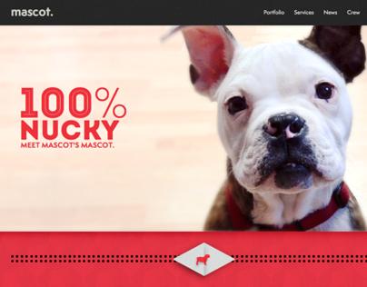 Mascot Agency Website