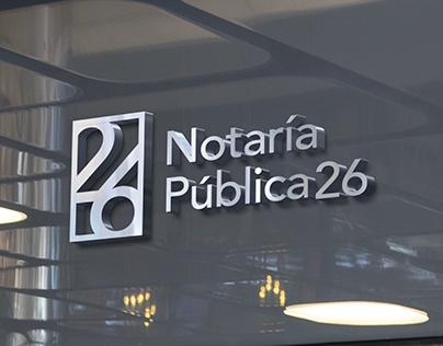 Notaria 26 | Branding