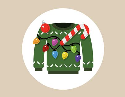 Christmas Sweater Family Tree