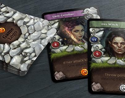 Trading Card Game - Creator on Behance