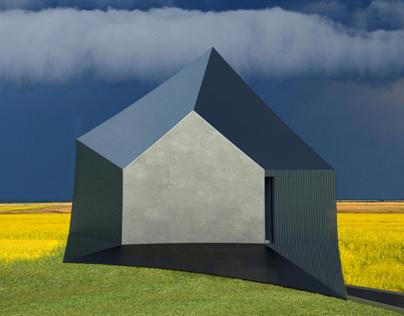 """Zodchestvo House"" – an optical dystopia"