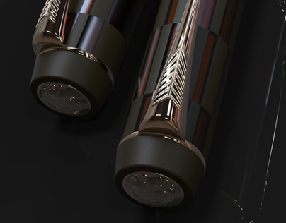 PARKER DUOFOLD, TRANSLUCENT PATTERN AND FINISHES