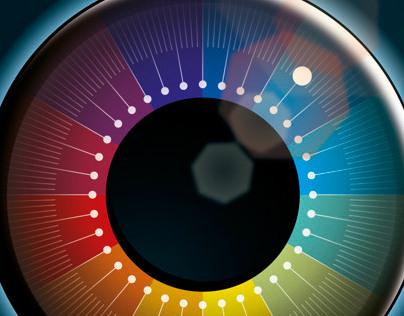 CMYK lens
