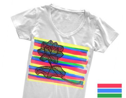 SS2012 - digital prints T-shirt